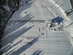 Willa Pod Górską Lawendą w zimie